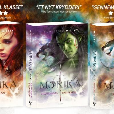 Fantasy trilogien Morika af Sidsel Sander Mittet