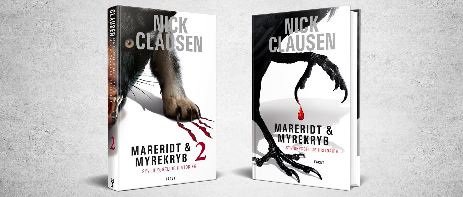 Mareridt & Myrekryb bind 1 og bind 2 af Nick Clausen